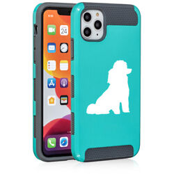 For Apple iPhone 11 Dual Layer Shockproof Hard Case Miniature Poodle Toy Poodle $14.99