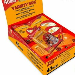 40 Packs - GoGold Body Toe Hand Warmers Variety Pack Up To 12 Hours Heat $24.95