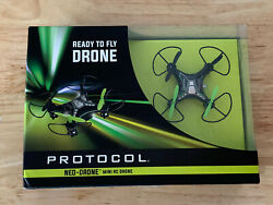 Protocol Neo Drone Mini RC Drone Fly Ready 3 Speed *New In Box* $21.90