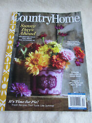 Country Home Sunny Days Ahead Magazine Summer 2020 $7.00