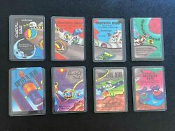 Grateful Dead Rare PUZZLE Backstage Pass SET 8 Passes Space Shuttle