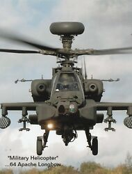 *Postcard quot;Military Helicopter...The 64 Apache Longbowquot; $4.33