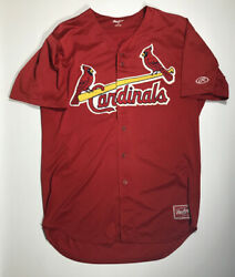 St. Louis Cardinals Game Used Spring Training Jersey #43 $49.99