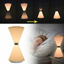 Rechargeable Bedside Light Hourglass LED Touch Sensor Dimmable Table Lamp Baby $13.99