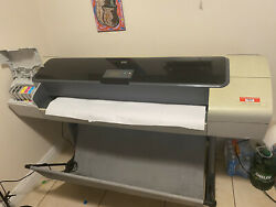HP Designjet T1100ps 44in Wide Large Format Printer Plotter $600.00