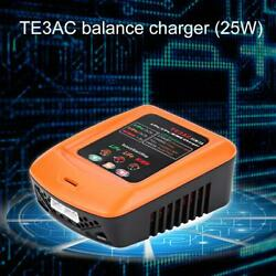 25W 3A RC Charger Charging for 2S 3S LiPo LiFe 1 8S NiMH Battery Accs $19.34