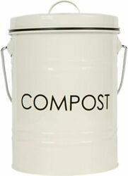 Nice Be Eco Friendly Rustic Shabby Chic Metal Countertop Compost Bin $49.95