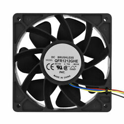 12V DC Cooling Fan Heatsink Cooler Replacement 4 Pin 6000RPM for Antminer S7 S9 $24.70