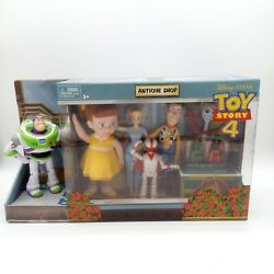 Toy Story 4 Antique Shop Adventure Pack w 8 Collectible Fun Figures New $59.99