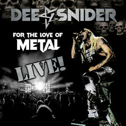 Dee Snider **For the Love of Metal **BRAND NEW CD DVD AND BLU RAY TWISTED SISTER $19.88