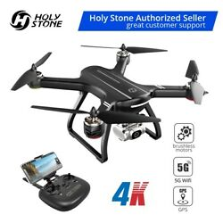 Holy Stone HS700D GPS Drone 4K UHD Camera Quadcopter Brushless Selfie Tapfly US $199.99