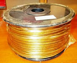 LAMP CORDWIRE 2 Wire 18 gauge 250 Foot Roll 300v GoldClear UL Listed $48.00