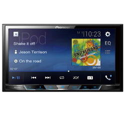 Pioneer MVH 300EX RB Double 2 DIN MP3 WMA Digital Media Player 7quot; LCD Bluetooth $219.00