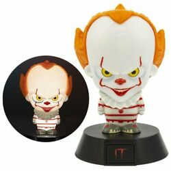 2017 IT NEW * Pennywise Icon Light * Horror Collectible Lamp Figure $19.95
