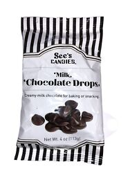 Sees's Candies Milk Chocolate Drops $3.75