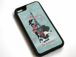 Vintage French Poodle Girls Case Cover For iPhone 11 XS Max XR X 8 7 6S 6 Plus $12.51