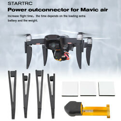 Battery Extended Adapter + 4Pcs Landing Gear Support Protector for DJI Mavic Air $7.99