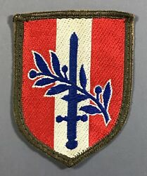 Post WWII US Army Forces Austria Patch Cut Edges No Glow Made in Germany $4.99