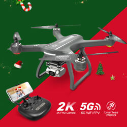 Holy Stone HS700D GPS drone with 2K camera brushless 5G FPV RC quadcopter selfie $169.99