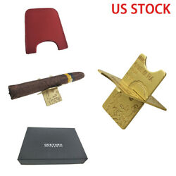 Cigar Holder Detachable Travel Stand Rests Holder Carbon Fiber Foldable Outdoor $9.99