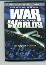 DVD. The War of the Worlds 1953 Special Collector#x27;s Edition $6.00