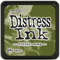 Distress Mini Ink Pad Forest Moss 789541039983 $6.83