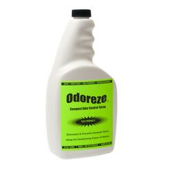 ODOREZE Natural Compost Odor Control Spray: 5 Gallon Concentrate Makes 2560 Gal. $829.99