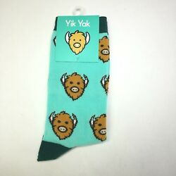 YIK YAK Novelty High Socks Unisex Collectible New $15.12