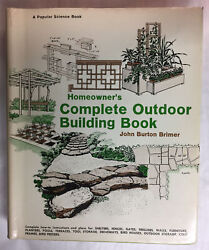 Homeowners Complete Outdoor Building Book