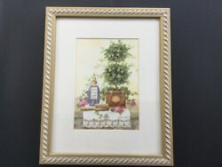 Annie LaPoint Framed Print Topiary Art Picture Flowers Gallery $14.00