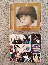 U2 CD Lot The Best Of 1980-1990 Achtung Baby