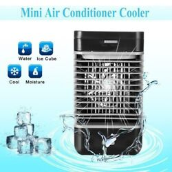 Portable Mini Air Conditioner Cooler Cooling USB Fan Humidifier Purifier Home $16.66