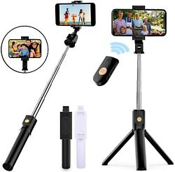 Selfie Stick Tripod Remote Desktop Stand Cell Phone Holder For iPhone Samsung US $10.79