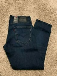 LEVI#x27;S PREMIUM 502 REGULAR TAPER FIT ADVANCED STRETCH JEAN MEN#x27;S SIZES $89 #0279 $36.99