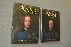 Anne With an E Season 3 DVD NEW and SEALED Amybeth McNulty R.H. Thomson