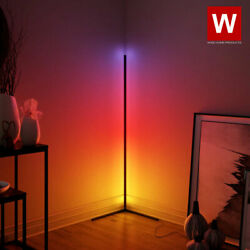 The Prysm™ Modern RGB Lamp LED Corner Floor Lamp LED Light Strip for Room $123.49