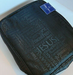 XXL Bible Cover NAMES OF JESUS Black Extra Extra Large Book Bag Case $19.98