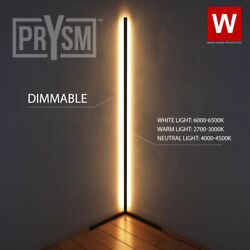 Prysm™ Nordic Corner Lamp White LED Light Room Minimalist Light With Dimmer $111.99