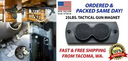 Tactical Gun Magnet Mount Conceal Firearm Secure STRONG Magnetic Lockdown $14.99