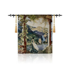 Watcher Medieval Fine Art Tapestry Wall Hanging Living Room Deco SIGHT $39.99