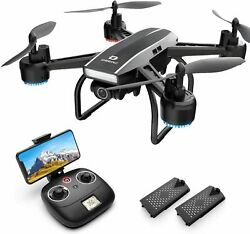 DEERC D50 Drone for Adults 2K HD Camera FPV Quadcopter 3 Battery Gesture control $79.99