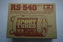 Tamiya 53068 RC Motor 23T Brushed 540 RS540 Sport Tuned $14.99