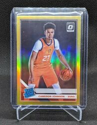 2019 20 Donruss Optic CAMERON JOHNSON #200 Rated Rookie RC Gold 10 READ $220.00