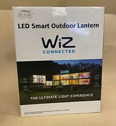 ALTAIR LED SMART OUTDOOR LANTERN WIZ CONNECTED WIFI $114.99