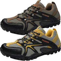 MENS HIKING RAMBLING OUTDOOR SNEAKERS WALKING TREKKING TRAIL BOOTS SPORTS SHOES $33.99