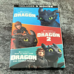How To Train Your Dragon 1 3 Includes 3 Movies DVD3 Disc Fast shipping New $14.99