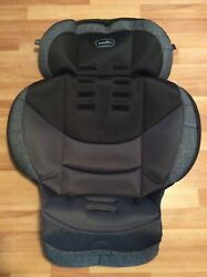 Evenflo Maestro Sport Toddler Convertible Car Seat Cover Cushion Part Black Gray $22.50