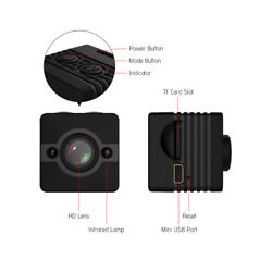 Fabquality Sq12 Mini DV Mini WiFi Remote Camera $12.00