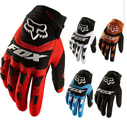 Full Finger Glove Racing Motorcycle Gloves Cycling Bicycles BMX MTB Bikes fox $18.44