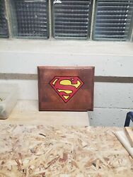 Superman Routed Painted And Stained Hanging Sign $12.00